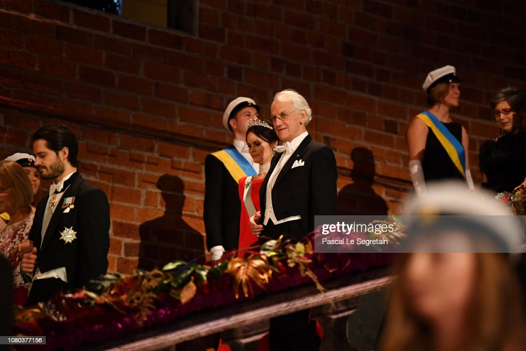 Nobel Prize Banquet 2018, Stockholm : News Photo