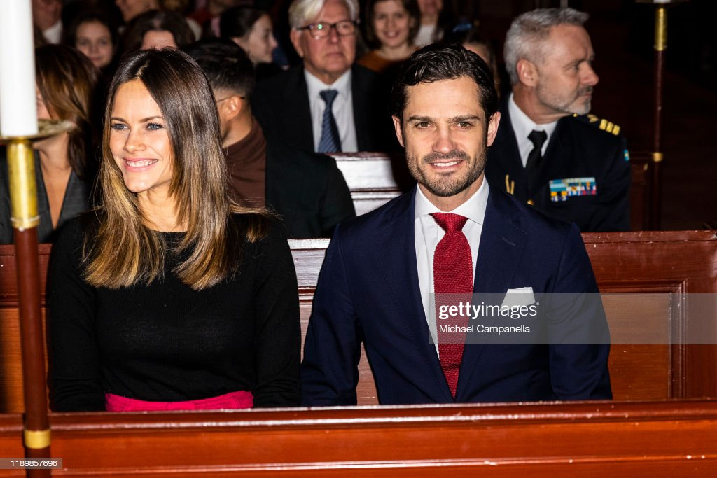 Swedish Royals Attend A Concert : News Photo