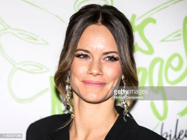 Princess Sofia of Sweden attends a ceremony to award the Net Angel of the Year prize at Nalen on November 18, 2019 in Stockholm, Sweden.