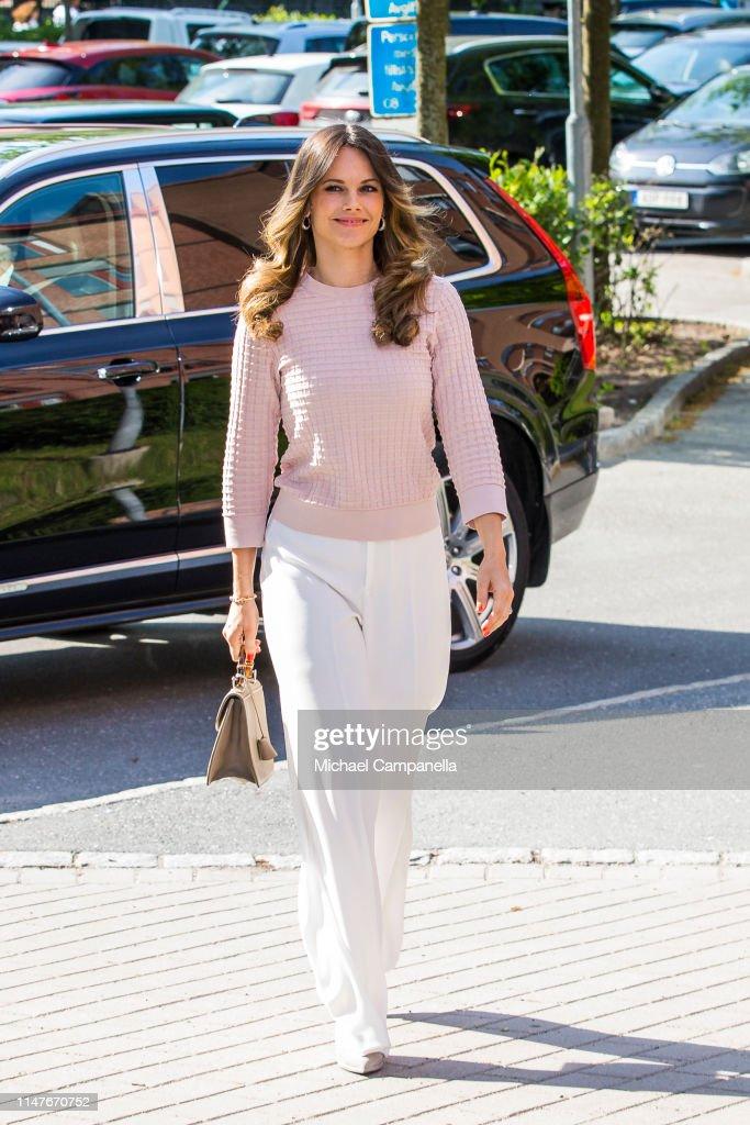 Princess Sofia Of Sweden Attends Symposium 'Recovery From Anorexia' : Foto jornalística