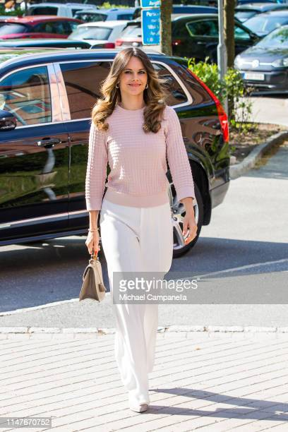 Princess Sofia of Sweden attends a symposium Recovery From Anorexia at Sophia Hemmet University on June 3, 2019 in Stockholm, Sweden.