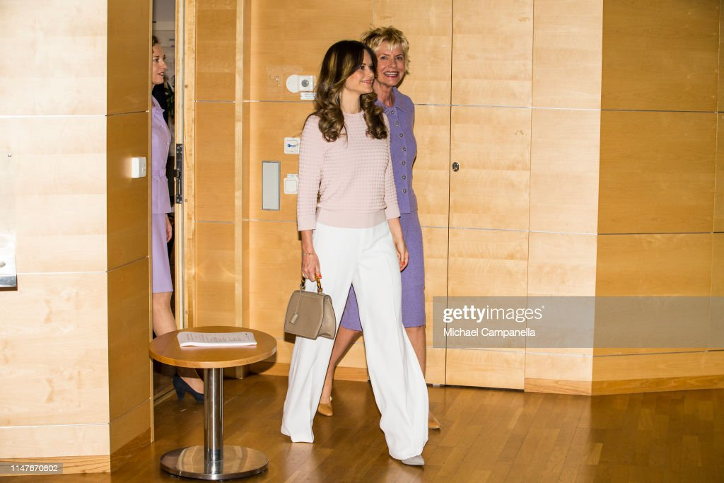 Princess Sofia Of Sweden Attends Symposium 'Recovery From Anorexia' : News Photo
