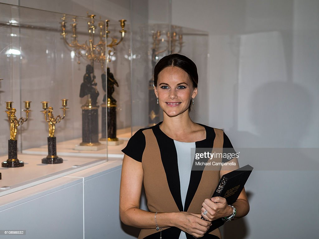 Princess Sofia Attends The Opening Of The 'Porphyry: The Royal Stone' Exhibition : ニュース写真