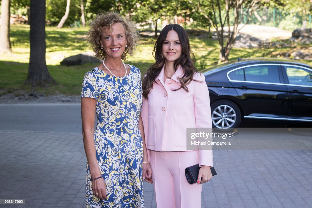 Princess Sofia Of Sweden Attends The Sophia Party And Presentation Of Medals Of Merit To Sophia Sisters : News Photo