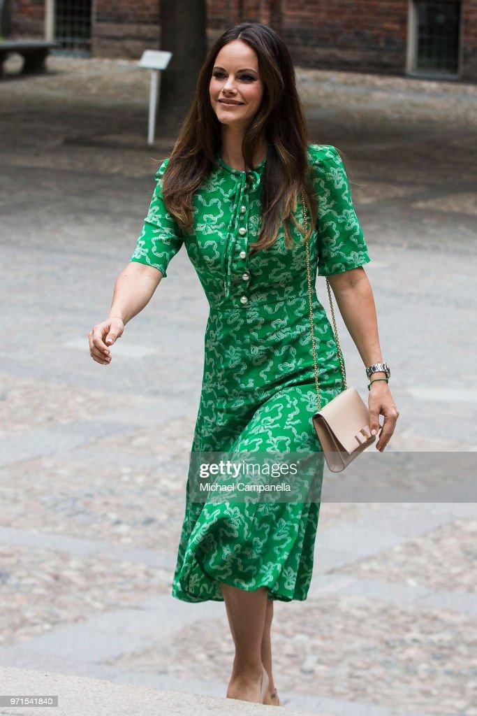 Princess Sofia of Sweden Attends Sophiahemmet's Graduation Ceremony : News Photo