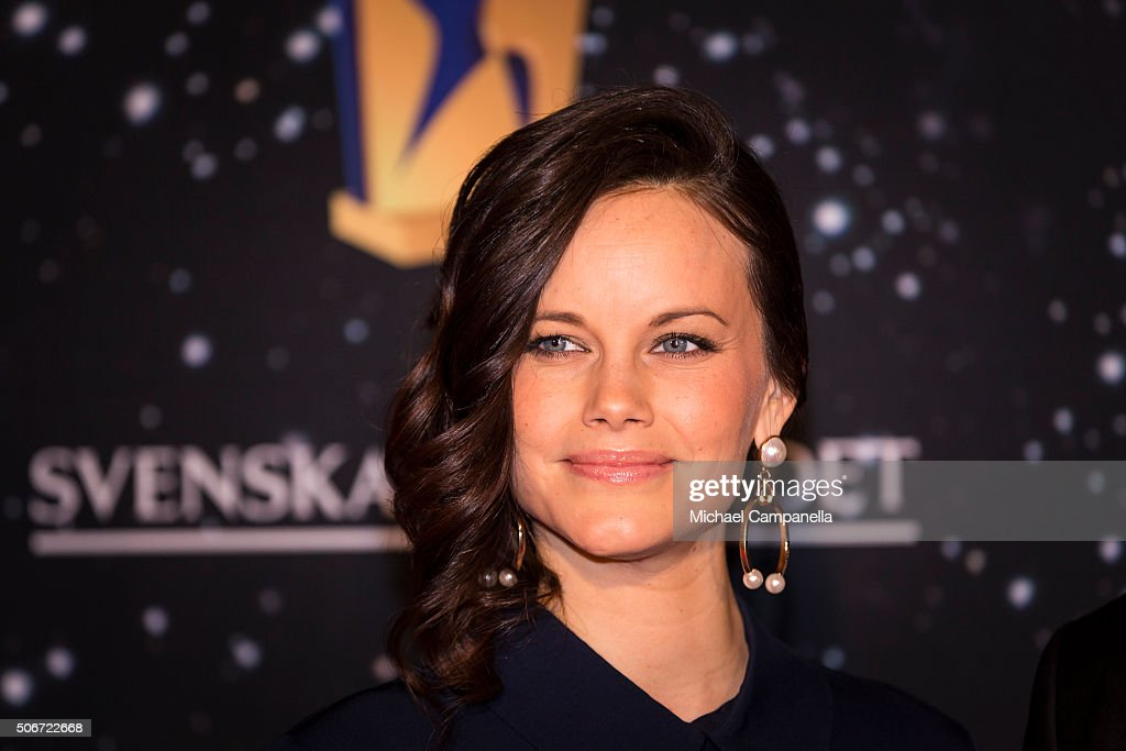 Princess Sofia of Sweden attends the Swedish Sports Gala at the Ericsson Globe on January 25, 2016 in Stockholm, Sweden.