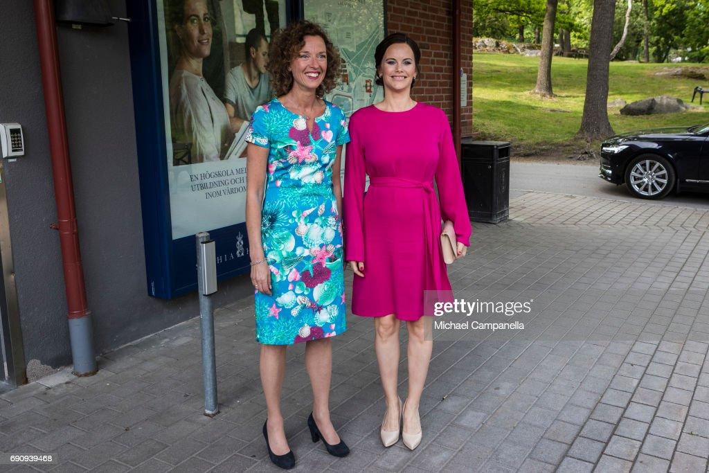 Princess Sofia Of Sweden Attends Sophia Party : Nachrichtenfoto