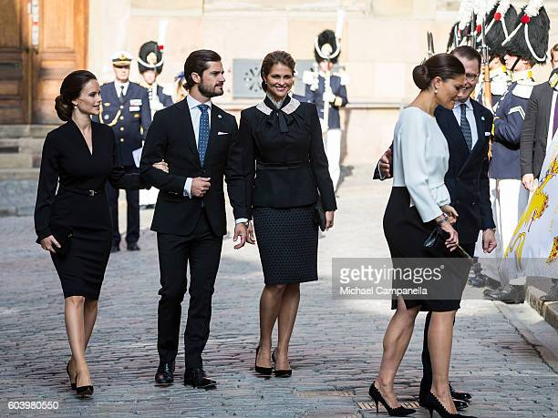 Princess Sofia of Sweden Prince Carl Phillip of Sweden Princess Madeleine Corwn Princess Victoria of Sweden and Prince Daniel Westling of Sweden...