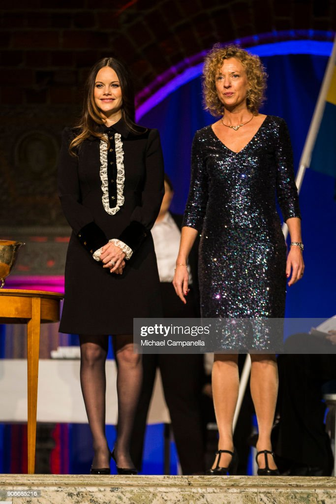 Princess Sofia of Sweden Attends Sophiahemmet's Graduation Ceremony