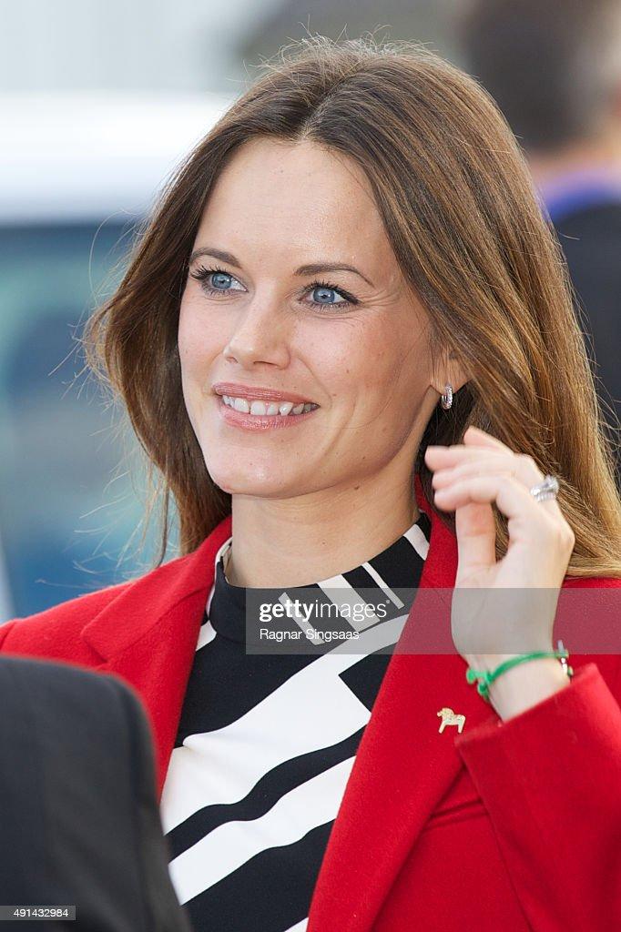 Prince Carl Philip of Sweden and Princess Sofia Visit Dalarna - Day 1 : News Photo