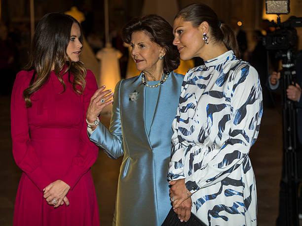 Swedish Royal Wedding Dresses Exhibition at Royal Palace Photos and ...