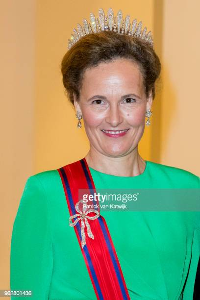Princess Sophie of Liechtenstein during the gala banquet on the occasion of The Crown Prince's 50th birthday at Christiansborg Palace Chapel on May...