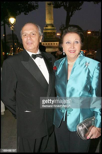 Princess Sophie of Wurttemberg and Bernard Grassin Champernaud at 2nd International Encounters Of Cinema Verite A Opera Bastille