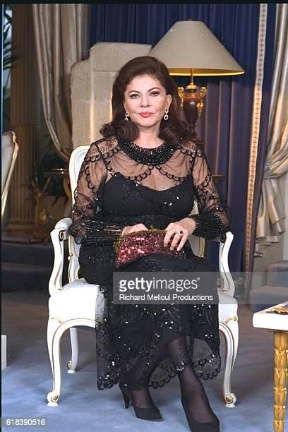 Princess Soraya of Iran at Home in Paris