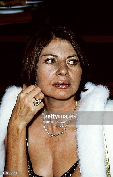 Princess Soraya of Iran In Paris France On October 15 1982Princess Soraya of Iran at the evening to celebrate the 2nd anniversary of 'L' Apocalypse'