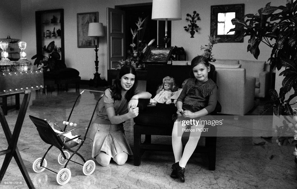 File pictures fo Princess Caroline of Monaco : News Photo