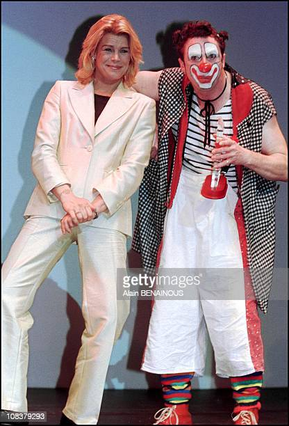 Princess Stephanie at the Monaco clown festival in Monaco on March 17 2001