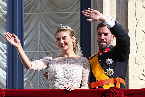 LUX: Prince Guillaume And Princess Stéphanie Of Luxembourg Welcome A Baby Boy