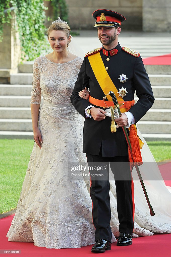The Wedding Of Prince Guillaume Of Luxembourg & Stephanie de Lannoy - Official Ceremony : Nachrichtenfoto