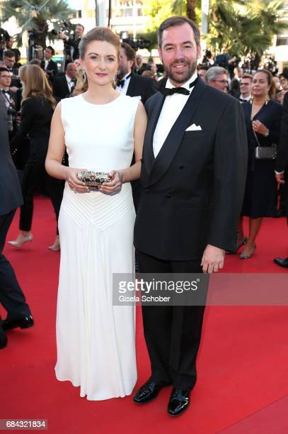 "Princess Stephanie of Luxembourg and Prince Guillaume of Luxembourg attend the ""Ismael's Ghosts "" screening and Opening Gala during the 70th annual..."