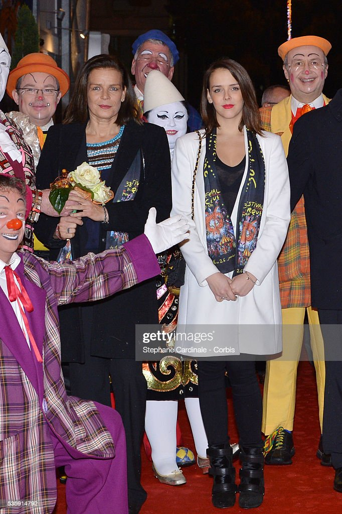 Princess Stephanie of Monaco and Pauline Ducruet attend the 38 th Monte-Carlo Circus international Festival, in Monaco.