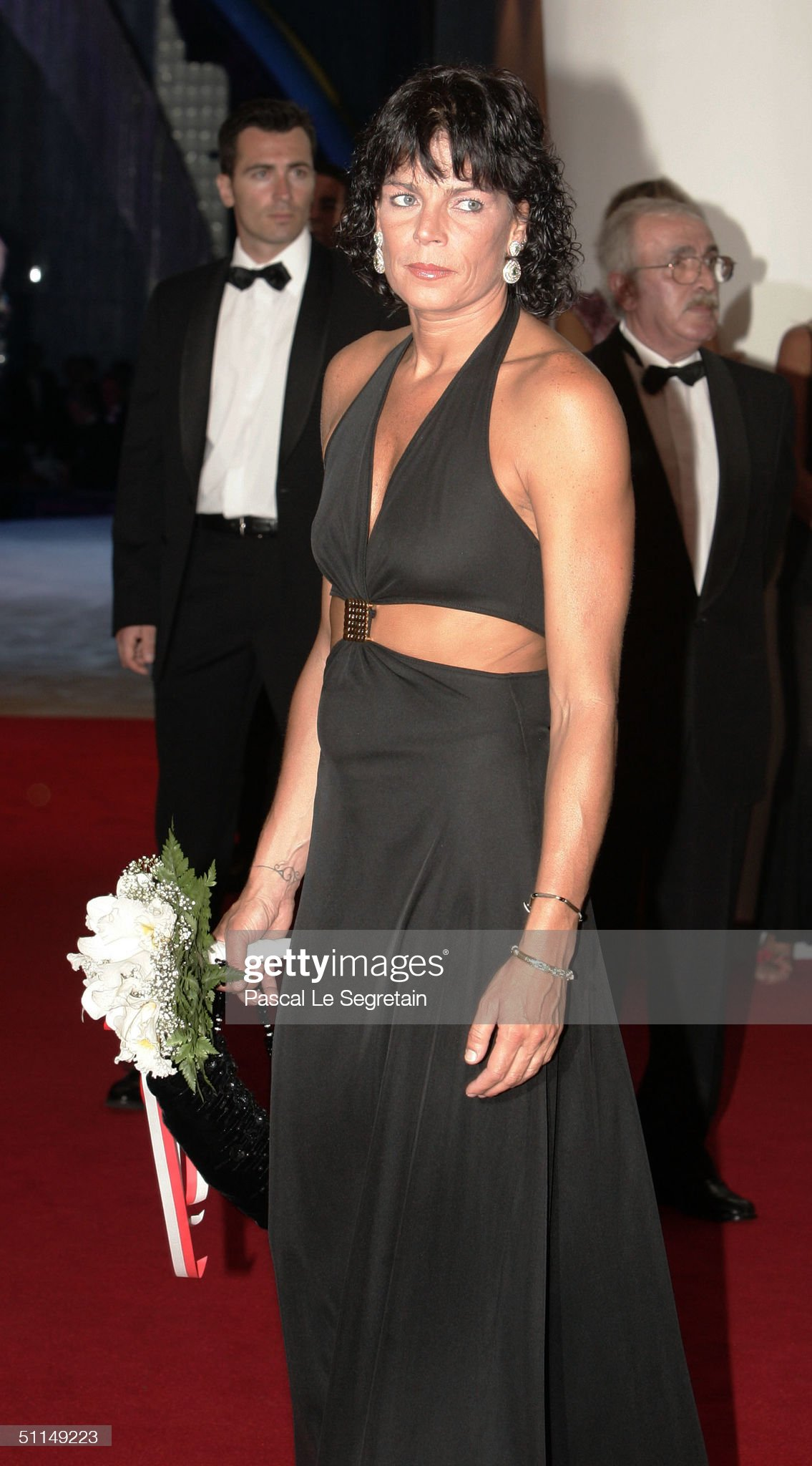 Monte Carlo Red Cross Ball 2004 - Arrivals : News Photo