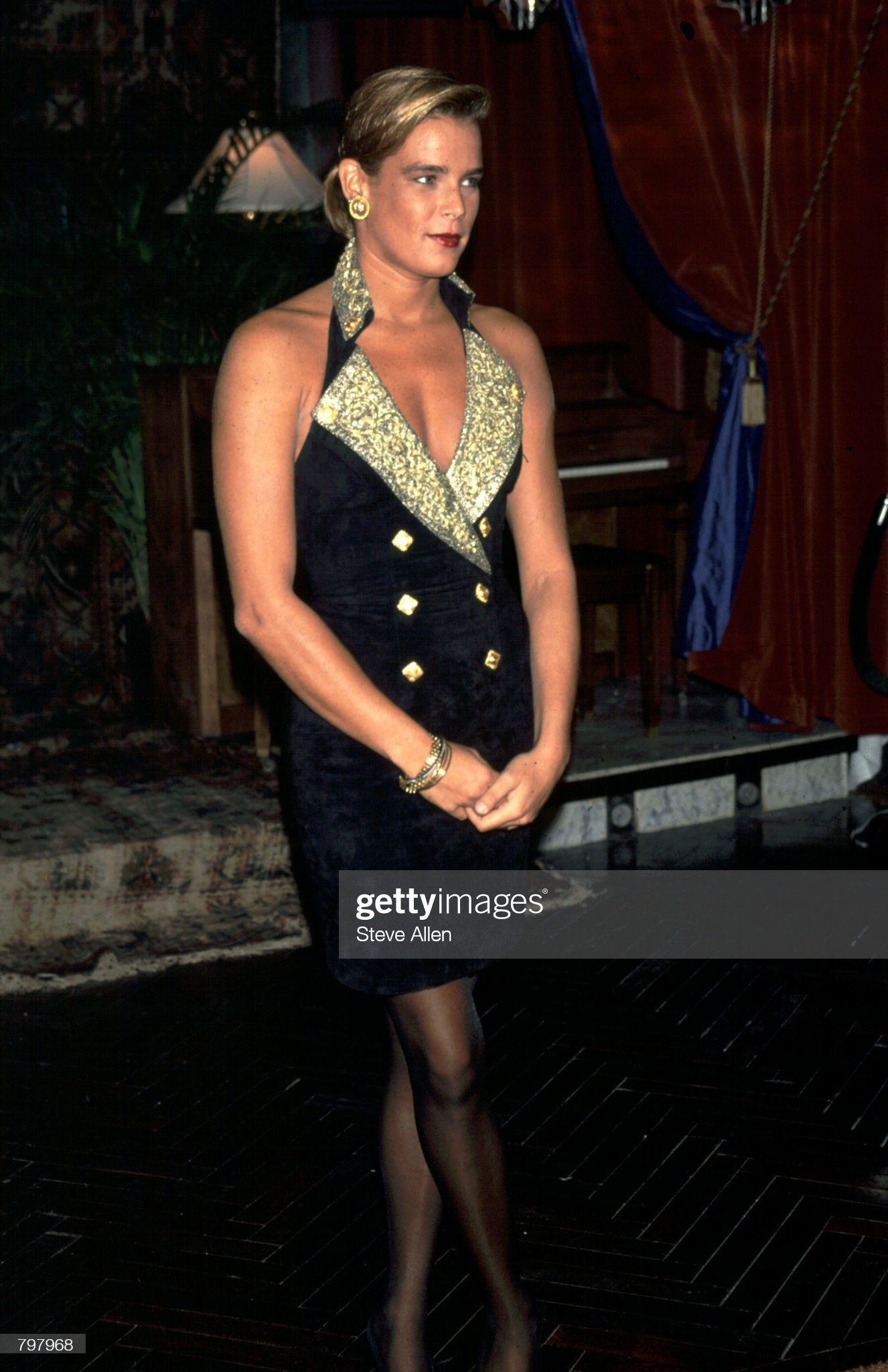 Princess Stephanie of Monaco... : News Photo