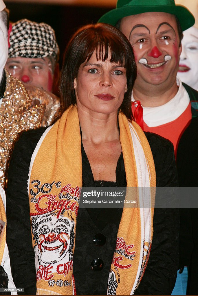 HSH Princess Stephanie of Monaco at the 30th Circus Festival of Monte Carlo.