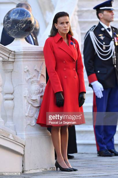 Princess Stephanie of Monaco attends Monaco National Day Celebrations on November 19, 2018 in Monte-Carlo, Monaco.