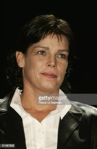 """Princess Stephanie of Monaco attends the first day of the """"Fight Aids Monaco"""" concert on October 16, 2004 in Avignon, France. Princess Stephanie..."""