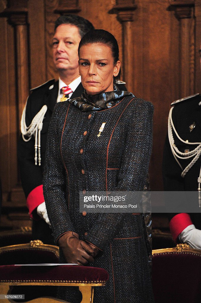 Princess Stephanie of Monaco attends the Mass on Monaco National Day at Cathedrale Notre-Dame Immaculee on November 19, 2010 in Monaco, Monaco.