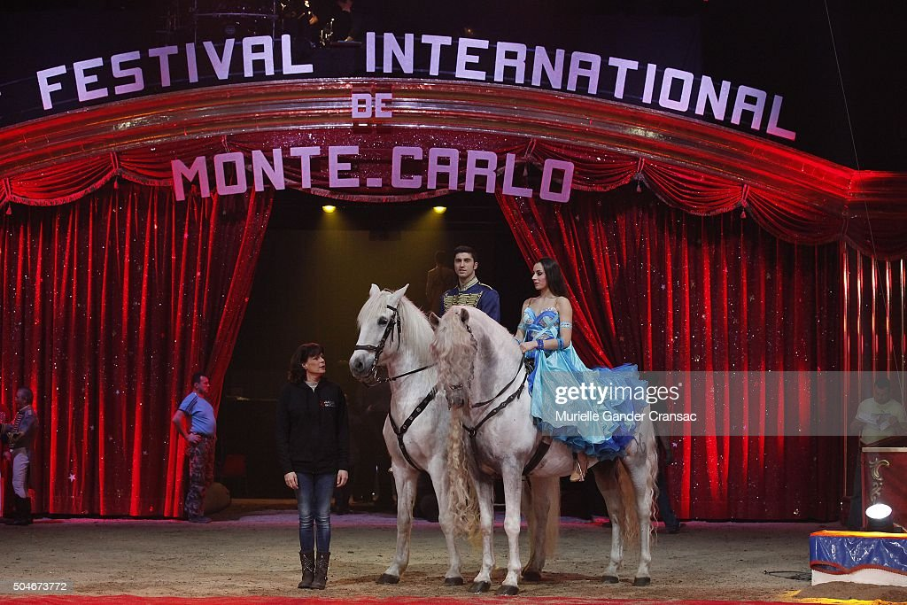 Princess Stephanie of Monaco attends the photocall of the 40th International Circus Festival, on January 12, 2016 in Monaco, Monaco.