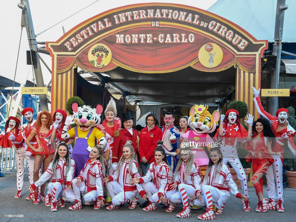 44th International Circus Festival In Monte-Carlo : Photocall : News Photo