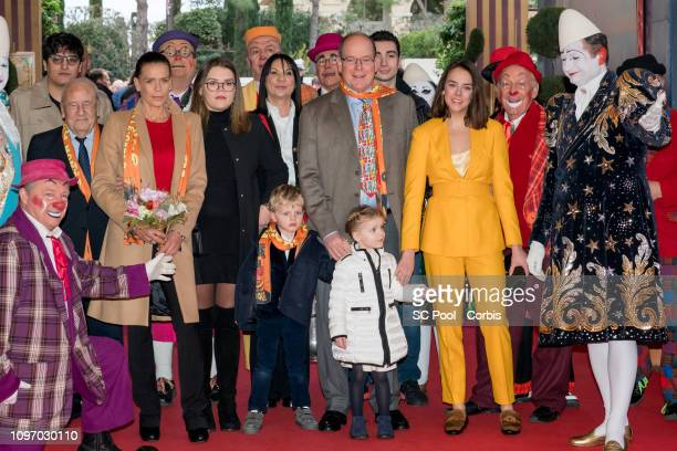 Princess Stephanie of Monaco Camille Gottlieb Prince Jacques of Monaco Princess Gabriella of Monaco Prince Albert II of Monaco and Pauline Ducruet...
