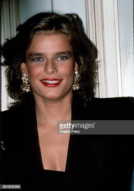 Princess Stephanie of Monaco circa 1989 in New York City.