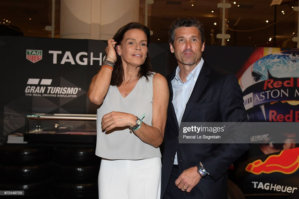 TAG Heuer Hosts Patrick Dempsey In Monaco