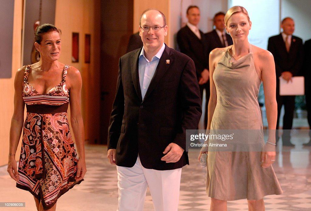 2010 Annual FightAIDS Monaco Gala Press Conference - Photocall