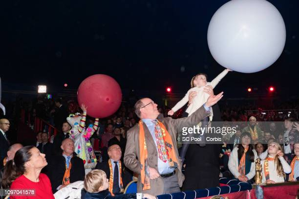 Princess Stephanie of Monaco, Prince Jacques of Monaco, Prince Albert II of Monaco and Princess Gabriella of Monaco attend the 43rd International...