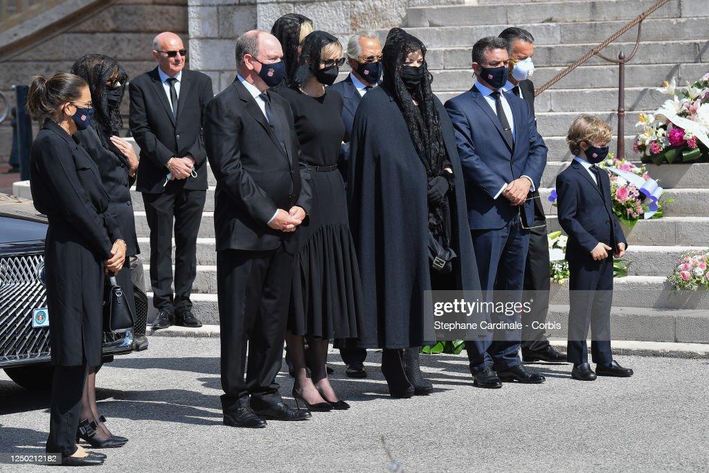 Elizabeth-Ann De Massy's Funerals In Monaco : Fotografia de notícias