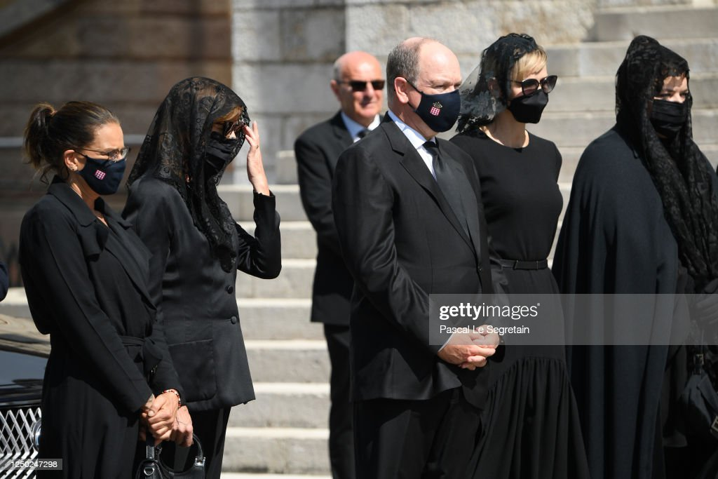 Elizabeth-Ann De Massy's Funerals In Monaco : News Photo
