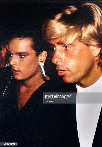 Princess Stephanie of Monaco with her boyfriend Mario Jutard, circa 1987.