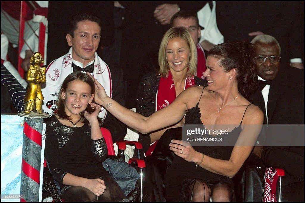 Closing Ceremony Of The Twenty Eighth International Circus Festival Of Monte Carlo In Monaco On January 20, 2004. : News Photo