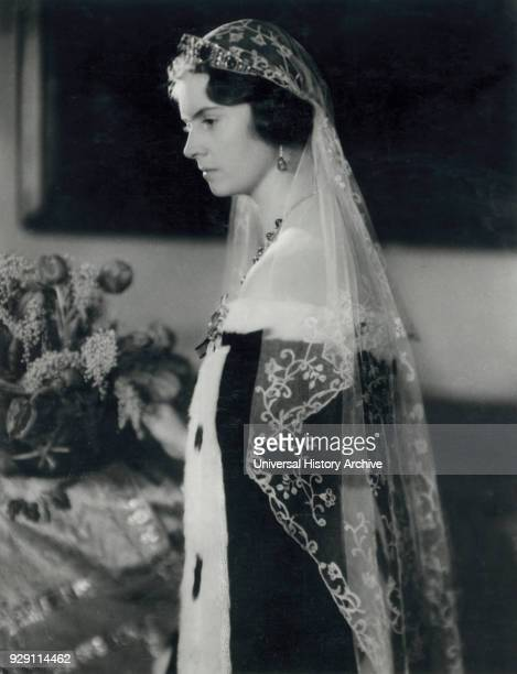 Princess Sybilla of SaxeCoburg and Gotha later Princess of Sweden through her Marriage to Prince Gustaf Adolf Portrait 1933