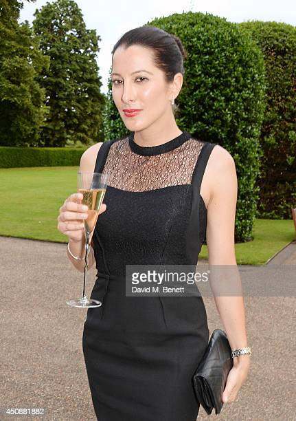 Princess Tamara Czartoryski attends the drinks reception hosted by Dockers the San Francisco based apparel brand at Kensington Palace on the eve of...