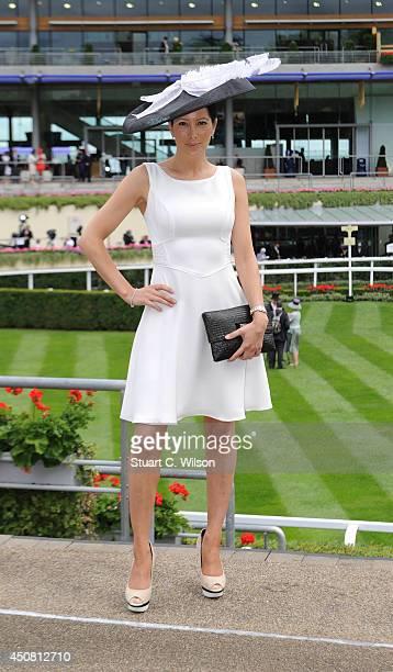 Princess Tamara Czartoryski poses during day two of Royal at Ascot Racecourse on June 18 2014 in Ascot England