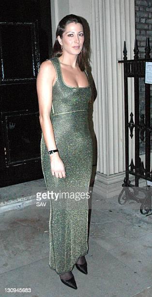 Princess Tamara CzartoryskiBorbon during Longines Dinner and Showcase January 26 2006 at Home House in London Great Britain