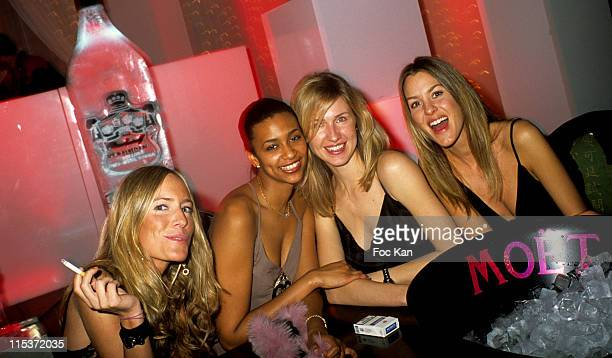 Princess Tatiana and Guests during Smirnoff Russian New Year Party at Man Ray in Paris France