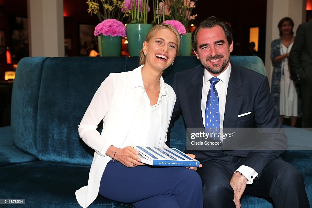 Princess Tatiana of Greece Meet & Greet In Munich : News Photo