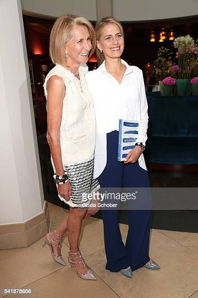 Princess Tatiana of Greece and her mother during the presentation of her book 'Zu Gast in Griechenland Rezepte Kueche Kultur' at 'The Charles' Hotel...