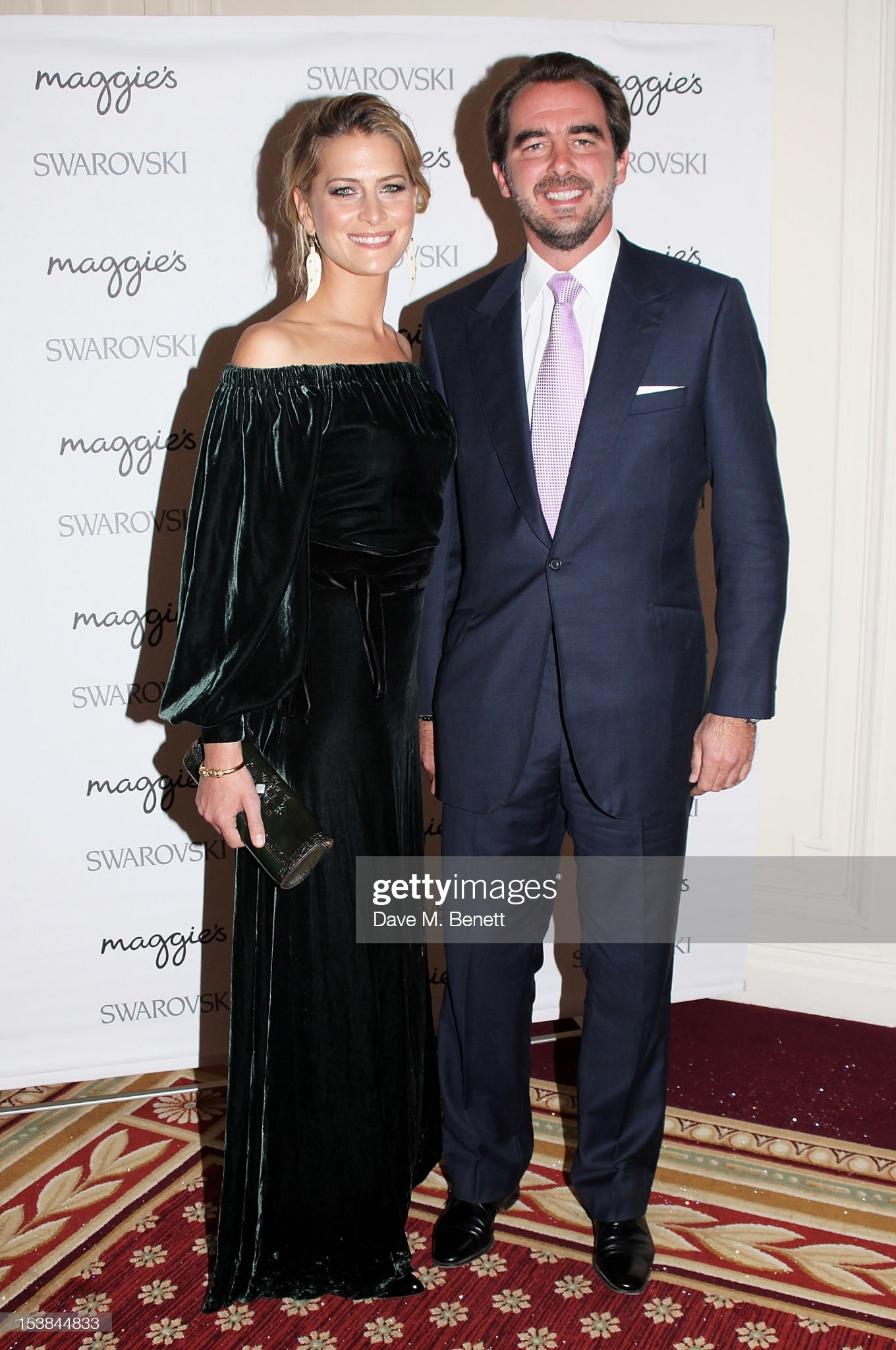 Maggie's Autumn Party Supported By Swarovski : News Photo